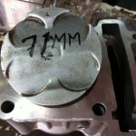 71mm Racing Cylinder Block for Yamaha 135LC (2006)