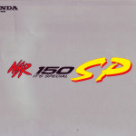 Honda NSR150SP Technology Brochure