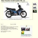 2011 Yamaha 135LC 5-speed Already Open for Booking In Malaysia