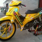 Modenas CT110 Cub Prix Racing Modified Bike For Sale