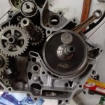 200cc Yamaha 135LC Auto Clutch Project with 62mm Bore x 65.7mm Stroke by Haen, Indonesia