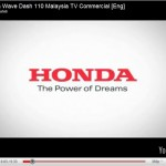 2011 Honda Wave Dash 110 TV Ads