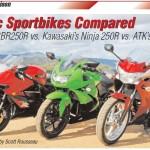 2011 Honda CBR250R vs Kawasaki Ninja 250R vs ATK (Hyosung) GT250R