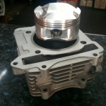 78mm Cylinder Block for Suzuki Belang R150 by Palex