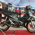 Modified Modenas GT128 Autoshow Bike