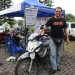 Bro Hadi: The Rider That Travel 30,000km With Modenas GT128 Underbone Bike to 24 Countries