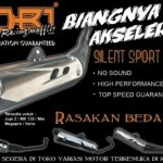 NOB1 Silent Sport Series Exhaust for Lagenda/LC135 from Indonesia