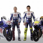 Fiat Yamaha Team 2009: Rossi and Lorenzo Bike