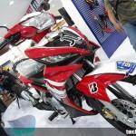 2011 Yamaha Jupiter MX WGP 50th Anniversary Red Livery in Indonesia