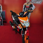 Honda Wave Dash SE, EX5 Gold and Cub Prix Race Bikes at Sepang MotoGP