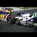 Freddie Spencer's Honda NS500 and NSR250 Race Bike