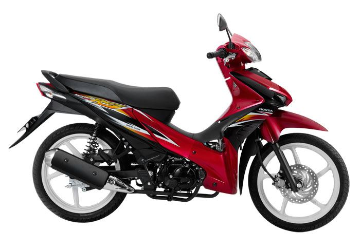 2012 Honda Wave 110RS (Metallic Red)