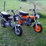 Honda Dax 110 with CBR150R Engine – Mini Monster!