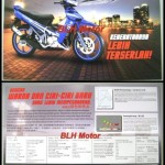 2012 Yamaha 125ZR Blue Brochure is out!