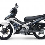 Official 2012 Yamaha Jupiter MX 5-speed White in Indonesia
