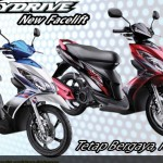 Suzuki Skydrive and Smash V115 New Decals