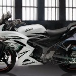 2012 Kawasaki Ninja 150RR Special Edition in Indonesia Full Body Pics