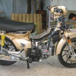 Modified Honda Dream 4-valve DOHC from Vietnam – this is for REAL!