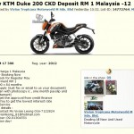 KTM Duke 200 CKD are now ready for pre-order, stock is in May – RM17,388 (UPDATED)