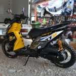 Modified Yamaha TTX115i Rockstar Offroad Style by Likit Racing