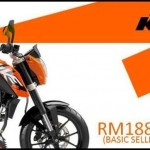 Official KTM Duke 200 CKD price – RM18,802.50