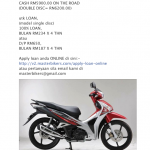 2012 Honda Future On-The-Road Price by Masterbikers