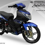 Blue Modenas Ace 115 is now available – RM4,600 OTR