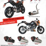 Scorpion Exhaust for KTM Duke 200