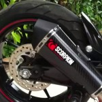 Scorpion KTM Duke 200 Serket Carbon Fibre Exhaust – RM2,100[ADV]