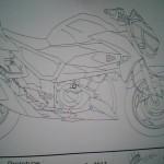Kawasaki Z250 naked bike rumored coming in January?