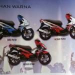 2013 Yamaha Nouvo LC livery update