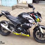 2013 Kawasaki Z250 VR46 mod by Andrey Philipus, Indonesia