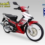 2013 Modenas Dinamik 120 in Red and Yellow livery