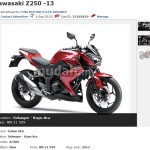2013 Kawasaki Z250 available for booking on mudah – RM21,599