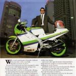 1988 Kawasaki KR-1 – 55PS of 250cc 2-stroke 225km/h racer