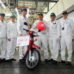 Honda EX5 Dream 100 Final Production at Batu Kawan, Penang – 2,051,530 units since 1987