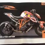 2014 KTM Super Duke R 1290 Malaysia Edition – estimated RM133k