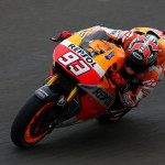 Marquez masters tricky conditions to lead Argentina practice