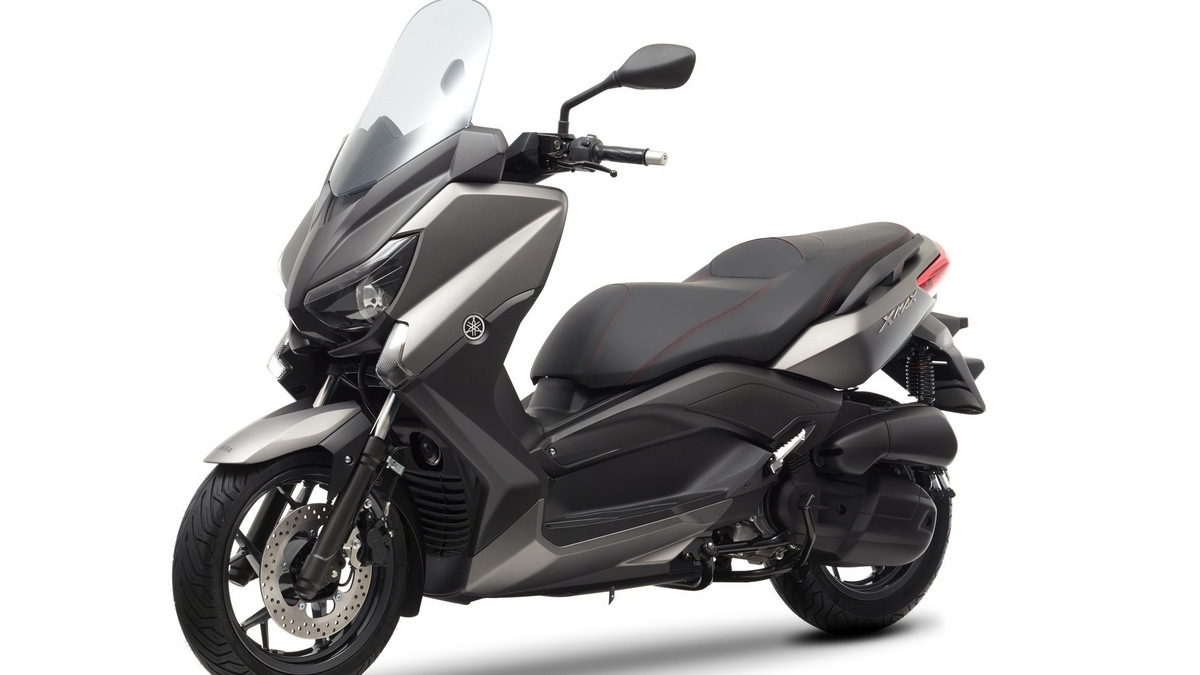1 2014 yamaha xmax 125 abs eu matt grey studio 007 berita dunia permotoran. Black Bedroom Furniture Sets. Home Design Ideas
