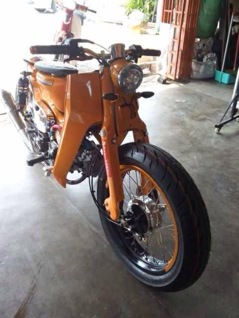 Hondac70 Streetcub 001 Motomalaya Net Berita Dan