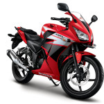 Official studio picture of 2015 Honda CBR150R dual headlight in Indonesia