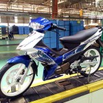 2015 Modenas Dinamik 120 livery. Now in blue