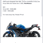 Kawasaki Ninja 300 and Z300 are coming to Malaysia?
