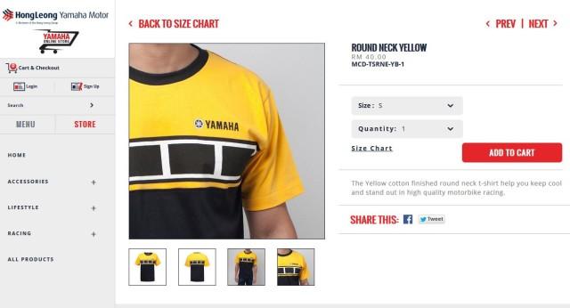Yamaha Malaysia Online Store